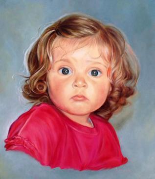 Портрет итальянской девочки Бенедетты